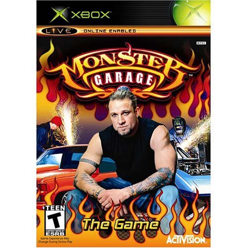 Monster Garage Xbox For Xbox Original With Manual and Case
