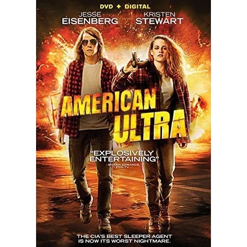 Image 0 of American Ultra DVD Digital On DVD With Jesse Eisenberg Comedy