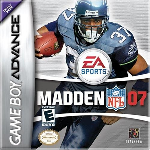 Image 0 of Madden NFL 07 For GBA Gameboy Advance Football
