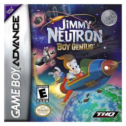 Image 0 of Jimmy Neutron Boy Genius For GBA Gameboy Advance