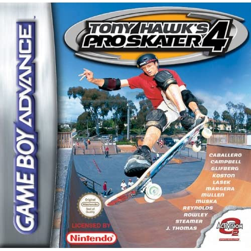 Image 0 of Tony Hawk's Pro Skater 4 GBA For GBA Gameboy Advance Extreme Sports