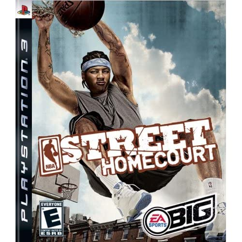 NBA Street Homecourt For PlayStation 3 PS3 Basketball