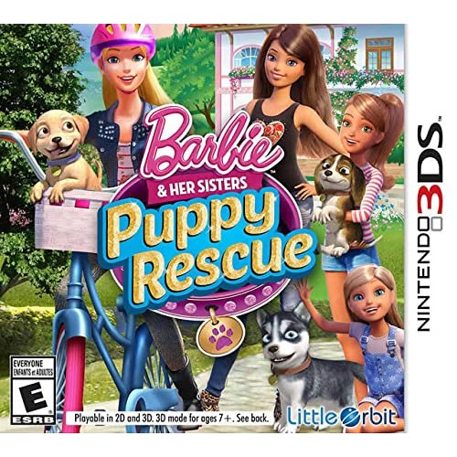Image 0 of Barbie And Her Sisters: Puppy Rescue For Nintendo DS DSi 3DS 2DS