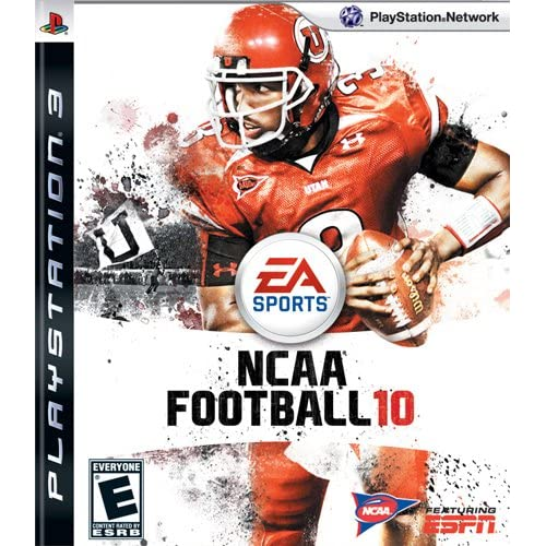NCAA Football 10 For PlayStation 3 PS3 With Manual And Case