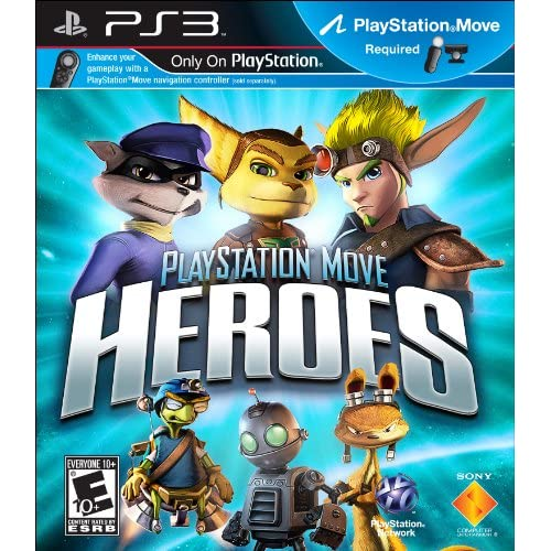 Image 0 of PlayStation Move Heroes Motion Game For PS3