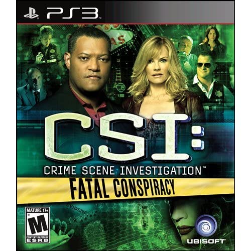 Image 0 of CSI: Fatal Conspiracy For PlayStation 3 PS3