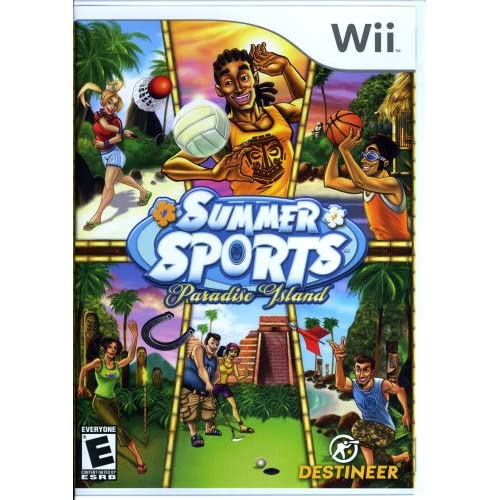 Summer Sports Paradise Island For Wii
