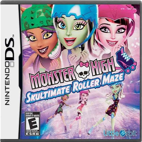 Image 0 of Monster High: Skultimate Roller Maze For Nintendo DS DSi 3DS