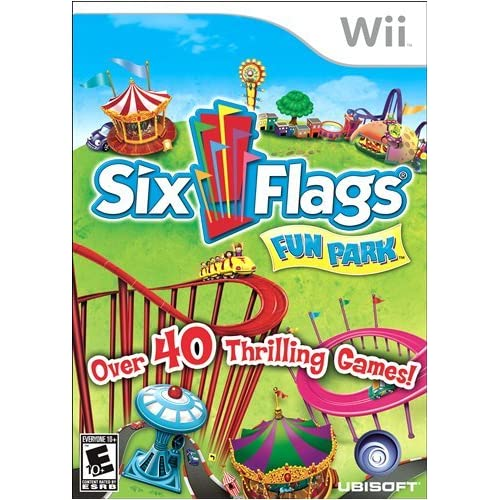 Image 0 of Six Flags Fun Park For Wii 6