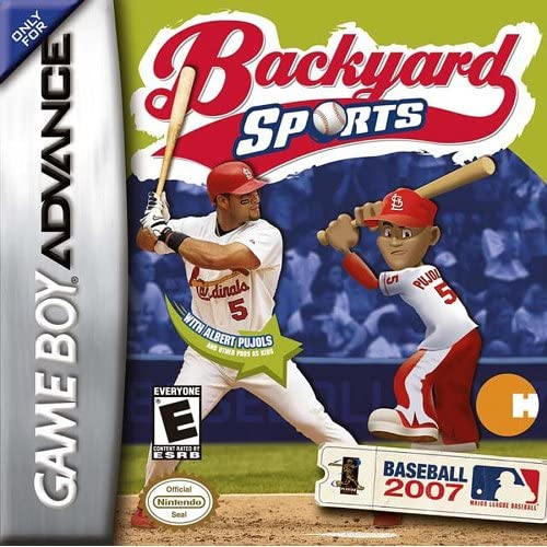 Backyard Sports Baseball 2007 For GBA Gameboy Advance