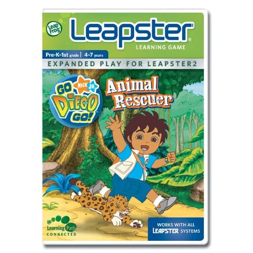 Image 0 of Leapfrog Leapster Learning Game Go Diego Go! For Leap Frog