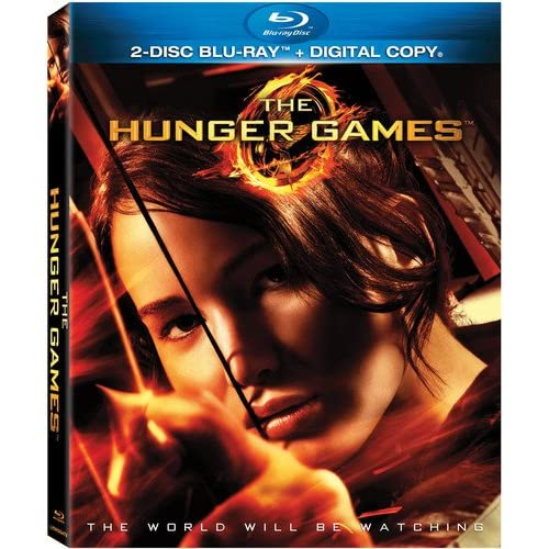 Image 0 of The Hunger Games Blu-Ray 2012 On Blu-Ray With Jennifer Lawrence