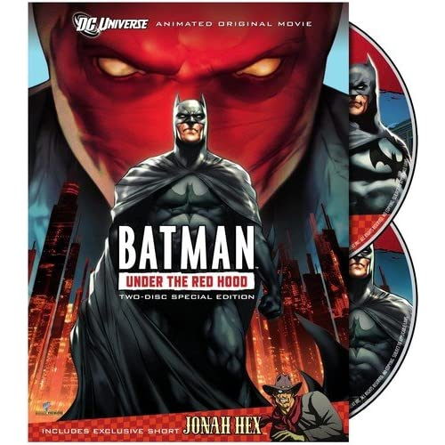 Image 0 of Batman: Under The Red Hood On DVD With Bruce Greenwood Anime