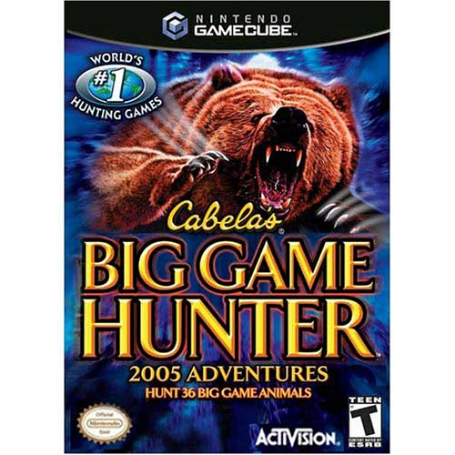Cabela's Big Game Hunter 2005 Adventure For GameCube Hunting