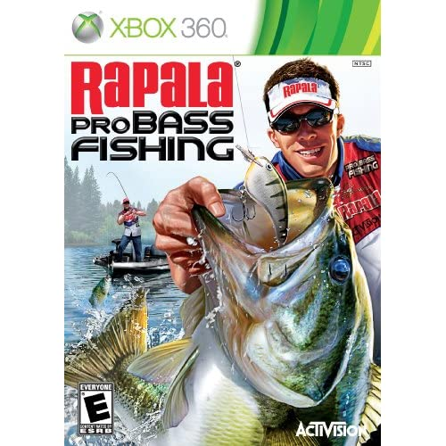 Rapala pro bass fishing 2010 for xbox 360 shooter with for Xbox 360 fishing games