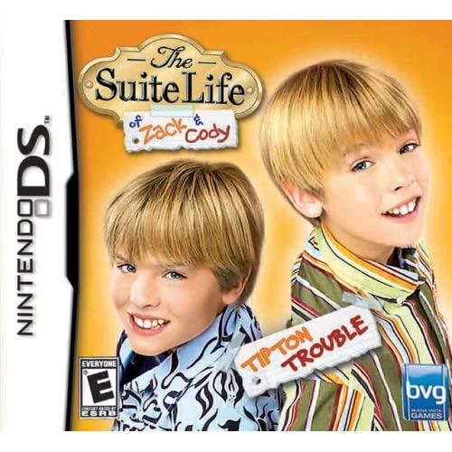 Image 0 of The Suite Life Of Zack & Cody: Tipton Trouble For Nintendo DS DSi 3DS 2DS Disney