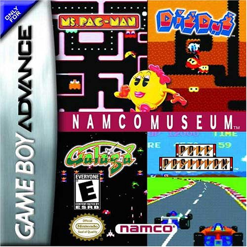 Image 0 of Namco Museum For GBA Gameboy Advance Arcade