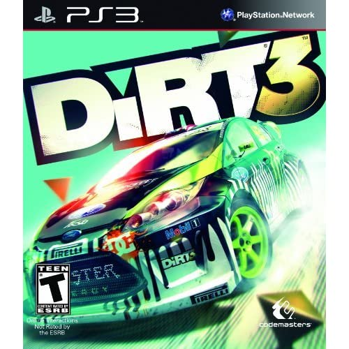 Dirt 3 For PlayStation 3 PS3 Racing