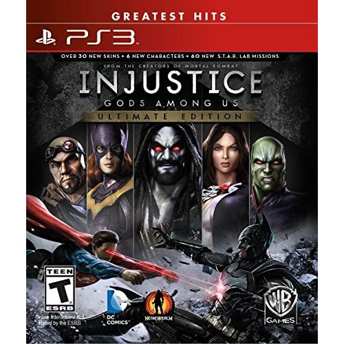 Image 0 of PS3 Injustice Ultimate Edition By PS3 Injustice Ultimate Edition For PlayStation