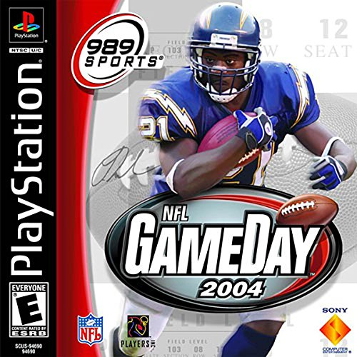 Nfl Gameday 2004 For Playstation 1 Ps1 Football
