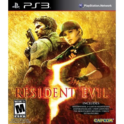 Resident Evil 5: Gold Edition For PlayStation 3 PS3