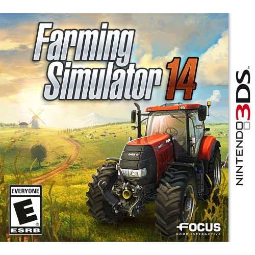 Farming Simulator '14 Nintendo For 3DS With Manual and Case