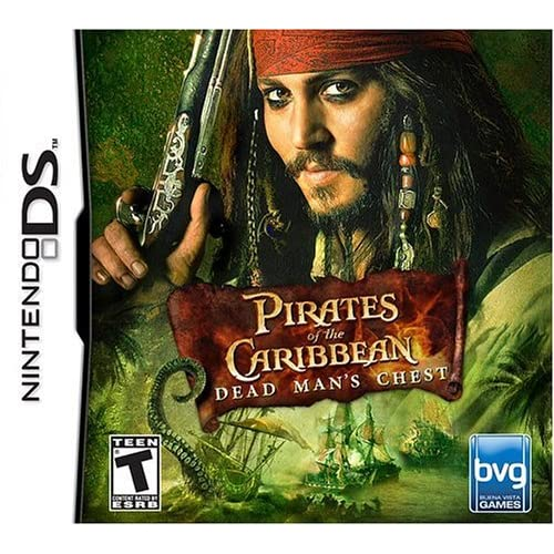 Pirates Of The Caribbean Dead Man's Chest For Nintendo DS DSi 3DS 2DS