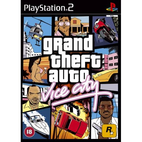Image 0 of Grand Theft Auto: Vice City PS2 For PlayStation 2