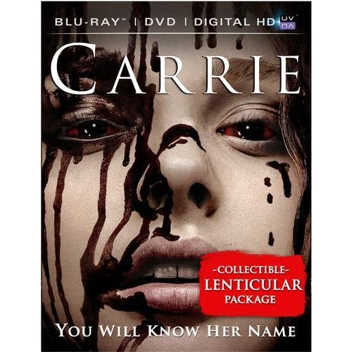 Image 0 of Carrie Blu-Ray DVD Digital HD With Ultraviolet On Blu-Ray Horror