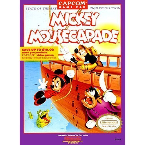 Image 0 of Mickey Mousecapade For Nintendo NES Vintage