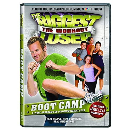 Image 0 of Biggest Loser: Boot Camp DVD On DVD With Bob Harper Exercise
