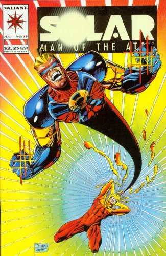 Solar Man Of The Atom #23 Split Decision Comic Book
