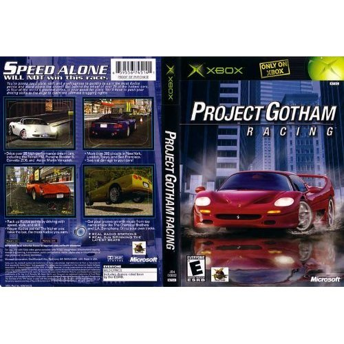 Old Xbox Games Racing Games : Project gotham racing for xbox original with and case