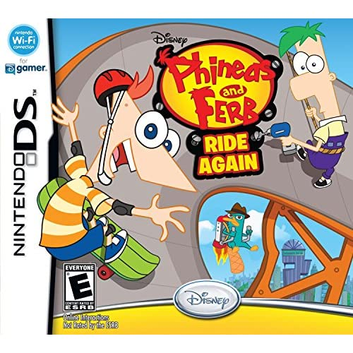 Image 0 of Phineas And Ferb Ride Again For Nintendo DS DSi 3DS 2DS Disney
