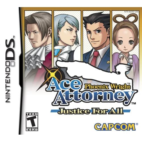 Image 0 of Phoenix Wright: Justice For All For Nintendo DS DSi 3DS 2DS RPG