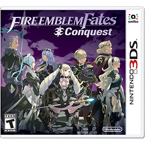 Fire Emblem Fates: Conquest Nintendo For 3DS With Manual and Case