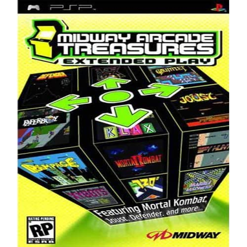Image 0 of Midway Arcade Treasures Extended Play For PSP UMD