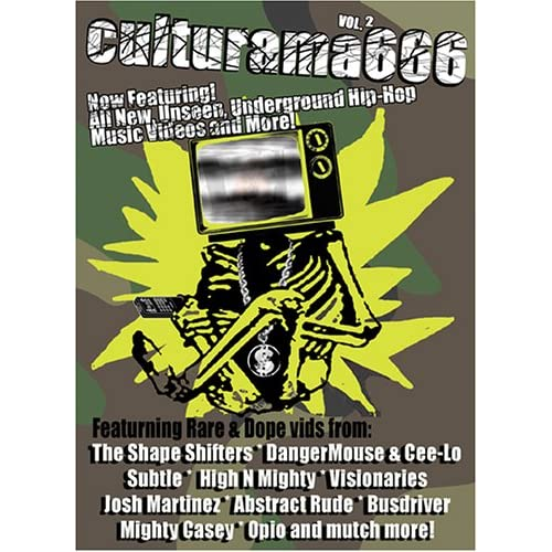 Image 0 of Awol One: Culturama Audio Visual Bombshelter Presents Culturama 666 Vol 2 On DVD