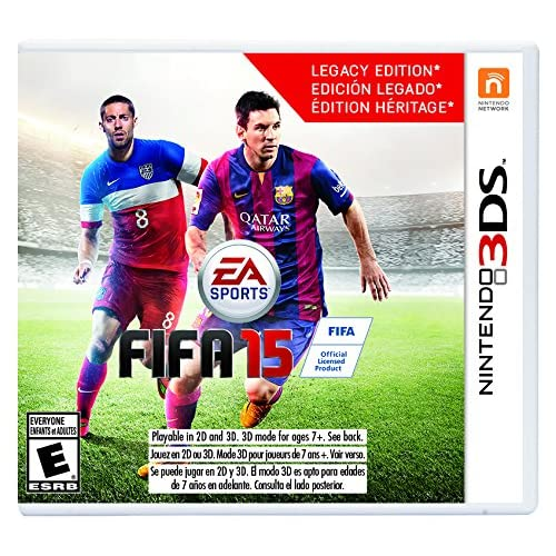 FIFA 15 Nintendo For 3DS Soccer With Manual and Case