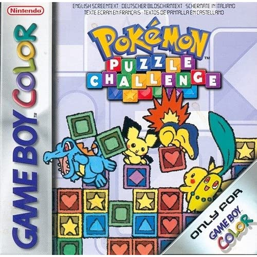 Pokemon Puzzle Challenge On Gameboy Color