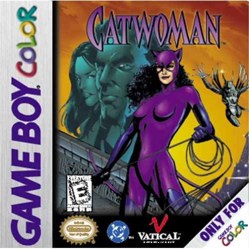 Catwoman On Gameboy Color