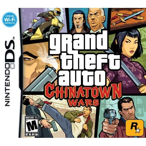 Grand Theft Auto: Chinatown Wars Nintendo For DS Action