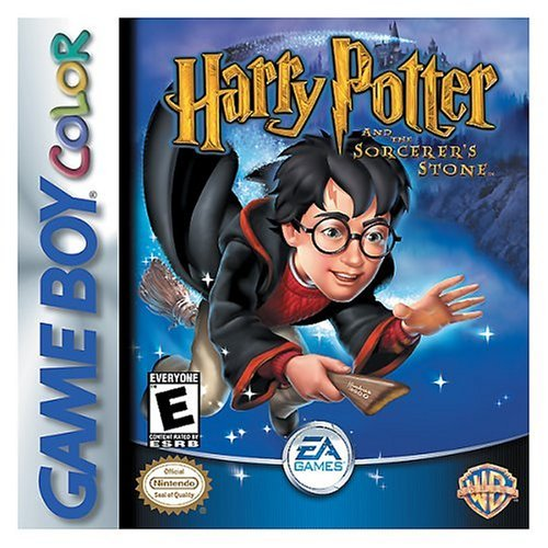 Harry Potter And The Sorcerer's Stone On Gameboy Color