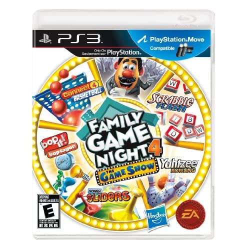 Family Game Night 4: The Game Show For PlayStation 3 PS3 Board Games