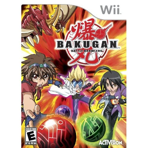 Bakugan Battle Brawlers For Wii And Wii U