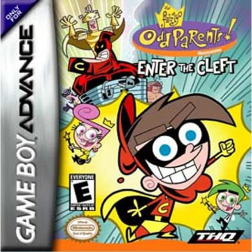 Image 0 of Fairly Odd Parents: Enter The Cleft For GBA Gameboy Advance