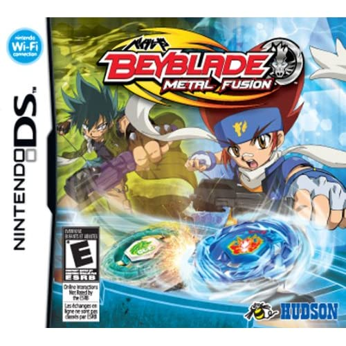 Image 0 of Beyblade: Metal Fusion For Nintendo DS DSi 3DS 2DS Fighting