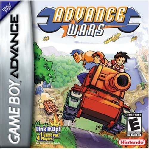 Advance Wars For GBA Gameboy Advance