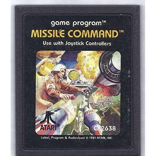 Missile Command For Atari Vintage Arcade