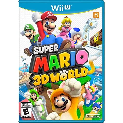Image 0 of Super Mario 3D World Nintendo Wii U With Manual And Case